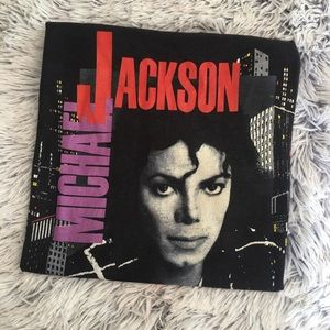 VINTAGE 1988 MICHAEL JACKSON TOUR TEE